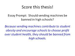 Vending Machine Profits In Schools Best Persuasive Essay Vending Machines In Schools Homework Service