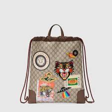 gucci bags pack. gucci courrier soft gg supreme drawstring backpack bags pack b