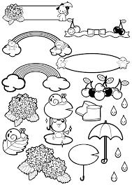 6月のおたよりイラストフリー素材まとめ①a4印刷用 保育園幼稚園