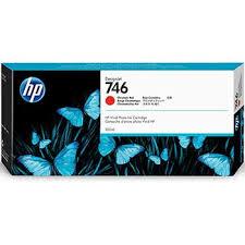 <b>HP 746 DesignJet</b> Ink Catridge, 300 mL, <b>Chromatic</b> Red (P2V81A)