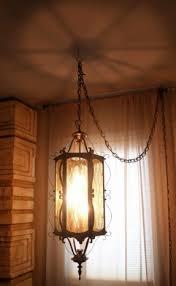 beautiful 60s vintage hanging lamp mid century mood lighting modern bohemian global eclectic home decor swag bohemian lighting