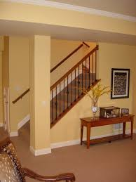 basement stairs. When Homes Are Constructed With Unfinished Basements, The Basement Stairs Not Typically Given Aesthetic