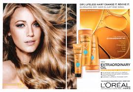 blake lively l oreal extraordinary oil