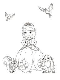 Small Picture Sofia The First Coloring Pages Pets Within Pages Es Coloring Pages