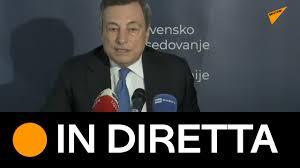 🔴Vertice UE-Balcani Occidentali, conferenza stampa del Presidente Draghi -  YouTube