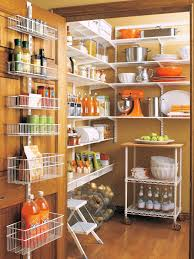 attach hanging shelves for extra storage