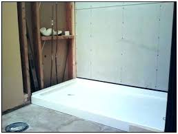 shower base for tile tile shower base replace shower pan with tile how to replace a