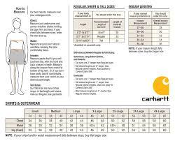 75 Veritable Caterpillar Clothing Size Chart