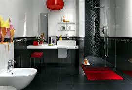 Bathroom Vanity And Cabinet Stunning Bathroom Ideas Red And Black .