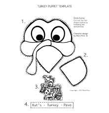 Cut Out Character Template Free Printable Turkey Template Printable Turkey Thanksgiving
