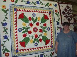 Barb brown and her original quilt made to help get through the ... & Barb brown and her original quilt made to help get through the long winter.  This Adamdwight.com