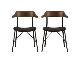 dining chairs modern design. maui walnut dining chairs modern scandinavian design from venoor living - vênoor