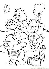Small Picture Care Bears 44 Coloring Page Free The Care Bears Coloring Pages