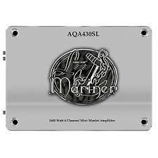 lanzar aqa430sl 1600 watt 4 channel mini mosfet marine amplifier lanzar aqa430sl 1600 watt 4 channel mini mosfet marine amplifier 4 x 300