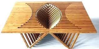 cool furniture design. Cool Wood Slab Table Furniture Design