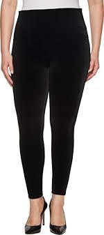 Spanx Womens Plus Size Velvet Leggings At Amazon Womens
