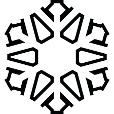 Blank Snowflake Template Blank Snowflake Template Simple Outline Paper Chain Choice