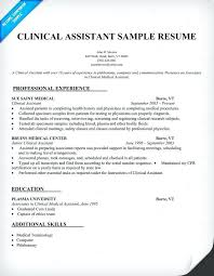 Certified Medical Assistant Resume Adorable Free Certified Medical Assistant Resume Samples Medicinabg