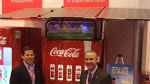 Solar Powered Vending Machine Delectable CocaCola Plans To Operate 48% SolarPowered Vending Machine