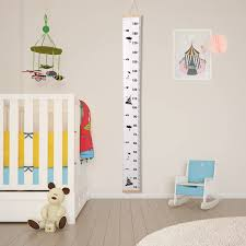 Baby Height Wall Chart Details About Wood Frame Kids Baby Height Growth Chart Wall Hanging Ruler Nursery Room Decor