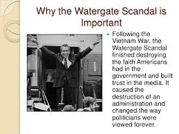 this is a watergate powerpoint 2 why the watergate scandal