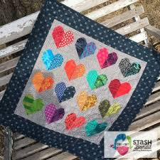 Valentine's day quiz from 100% correct answers. Valentine Quilts Stash Bandit