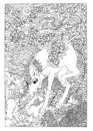 Get This Free Printable Unicorn Coloring Pages For Adults Sw395