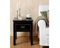 shanxi black side table with drawer shanxi black side table with drawer