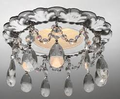 awesome recessed light chandelier