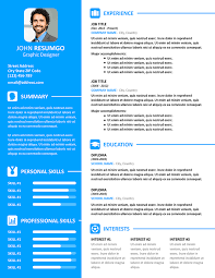 Resume In Powerpoint Vasilis Modern Resume Template For Powerpoint And Google