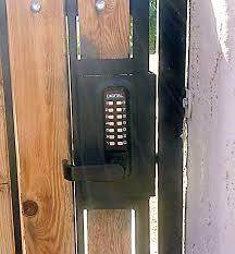 lock outdoor gates gate lock options