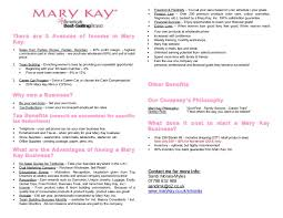 marketing plan uk mary kay business