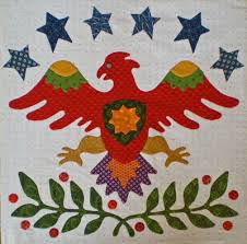 How to Applique: Invisible Machine Applique Instructions and ... & Eagle quilt block Adamdwight.com