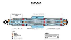 Airbus A333 Delta Seating Chart Philippine Airlines Airbus A330 300 Aircraft Seating Chart
