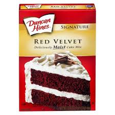Duncan Hines Red Velvet Cake Mix 165 Oz Target