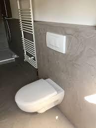 Badezimmer Wande In Betonoptik