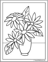 Click on the thumbnail of each spring coloring. 102 Flower Coloring Pages Customize And Print Ad Free Pdf