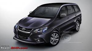 toyota new car release 20152015 Toyota Innova  Review Price Engine Release date  2015