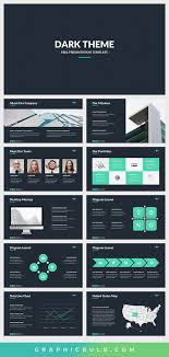 Amazing Powerpoint Designs Dark Theme Free Powerpoint Template