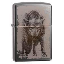 <b>Зажигалка Zippo</b> (зиппо) №49073 <b>Wolf Design</b> – Краснодар
