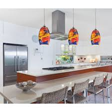 colored pendant lighting. modern minipendant light with multicolor glass rm1 colored pendant lighting o