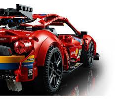 Lego technic byggesættet er et nyt fysisk projekt til dig selv eller den ideelle gave til en motorsportsfan og rummer en fordybende byggeoplevelse med en smuk model, der kan fremvises bagefter. Lego Set 42125 1 Ferrari 488 Gte Af Corse 51 2021 Technic Rebrickable Build With Lego
