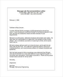 Letter Of Recommendation Mechanical Engineering Letter Of Recommendation For Graduate School From Manager Awesome 79