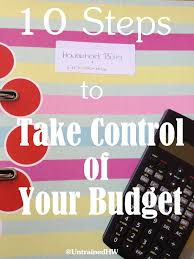 Taking Control Of Family Finances 10 Steps To Implement