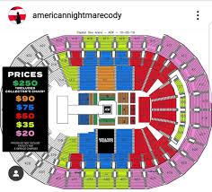 Price Chart For October 2nd Aew Tnt Debut Show In Dc