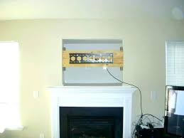 mounting tv over fireplace mounting above gas fireplace hanging above fireplace top how to install over