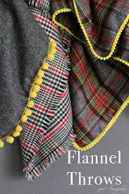 Diy Flannel Throw Blanket