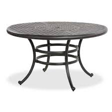round outdoor table. Simple Round Castle Rock 52 Inside Round Outdoor Table