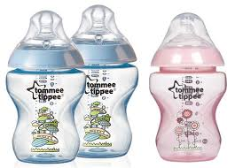 Tommee Tippee Pink Decorated Bottles Tommee Tippee Decorated Bottle Starter Set AsiBayiCom 54
