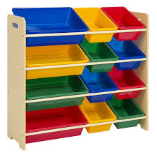 Amazon.com: Best Choice Products Toy Bin Organizer Kids Childrens Storage  Box Playroom Bedroom Shelf Drawer: Toys & Games